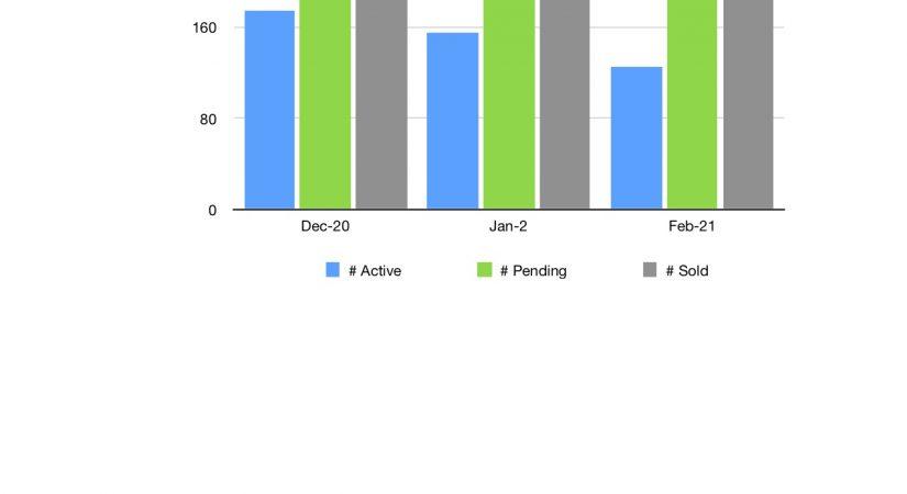 Feb 2021 Market Trend Graph