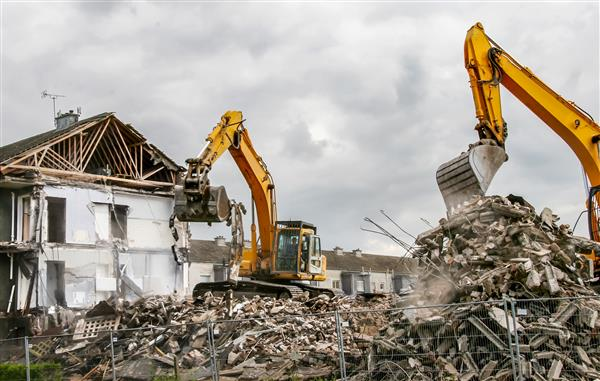 demolish a house in bend